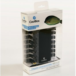 Adaptador cargador corriente universal portatiles coolbox