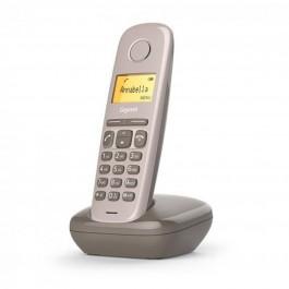 Telefono fijo inalambrico gigaset a170 marron