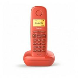 Telefono fijo inalambrico gigaset a170 rojo