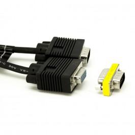 Cable vga prolongador adaptador phoenix macho