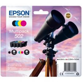 Multipack tinta epson 502 negro cian