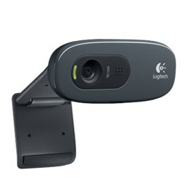 Webcam logitech c270 hd 1280x720p 3mp