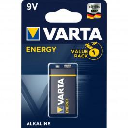 Pila varta alcalina 6lr61 9v energy
