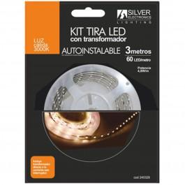 Kit tira led silver sanz 240328