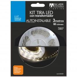 Kit tira led silver sanz 240350