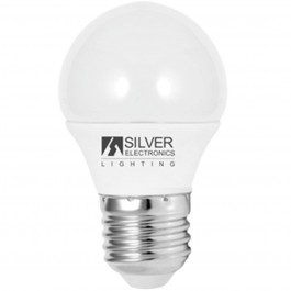 Bombilla led silver electronic eco esferica