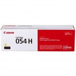Toner canon 054h amarillo 2300 pag